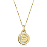 Elizabeth Pendant - Yellow Gold