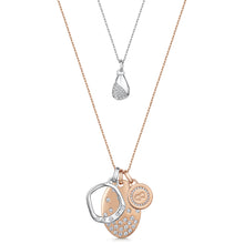 Elizabeth Necklace Set - Rose Gold/Rhodium