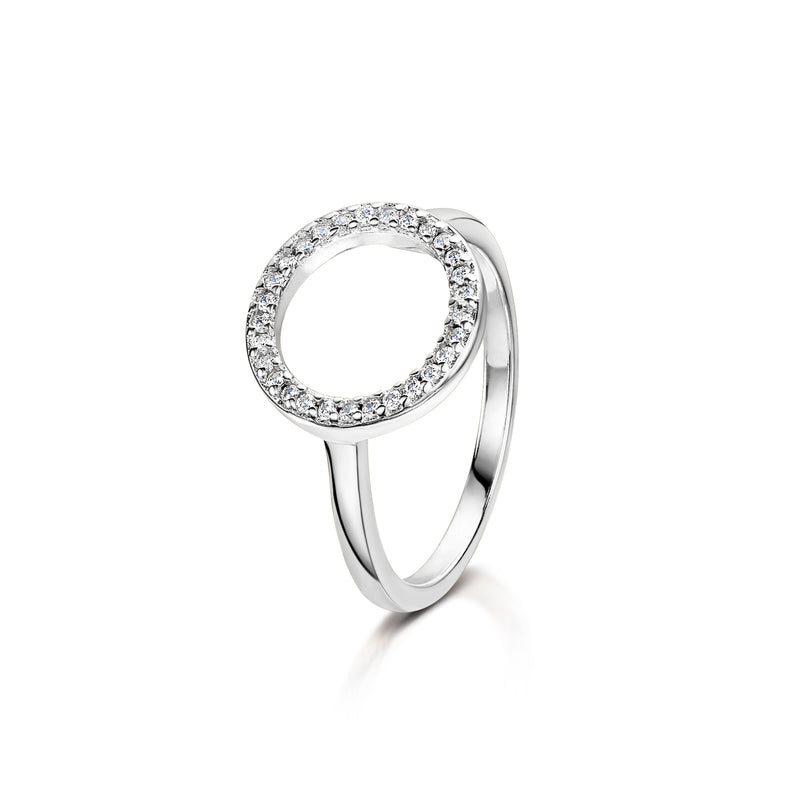 erica rhodium ring