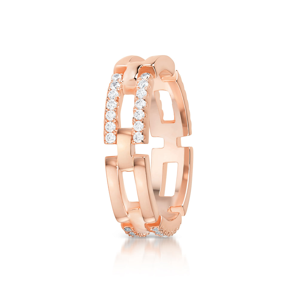 Milly Ring- Rose Gold