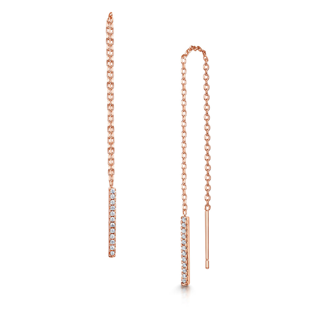Leanne Earring - Rose Gold
