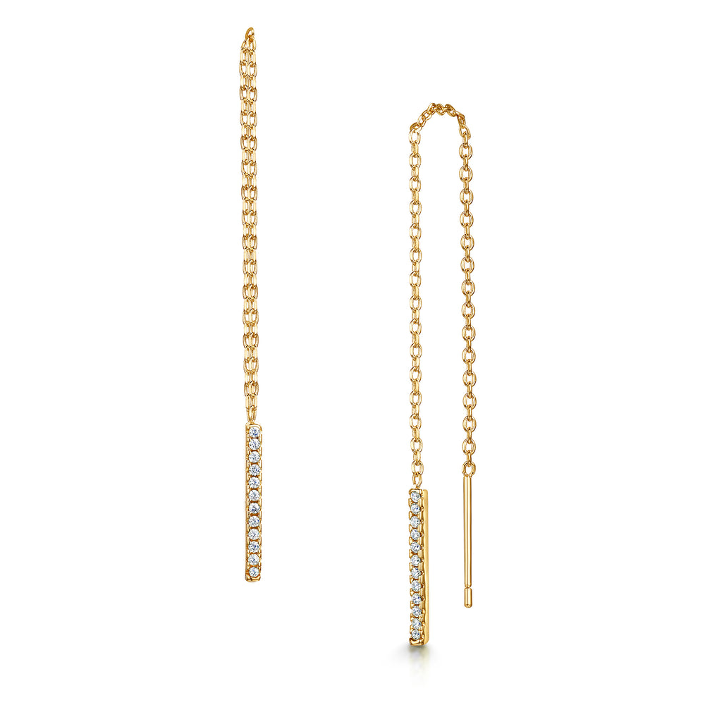 Leanne Earring - Yellow Gold