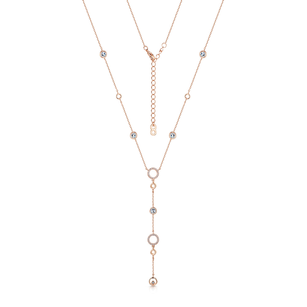 Lexi Necklace Rose Gold