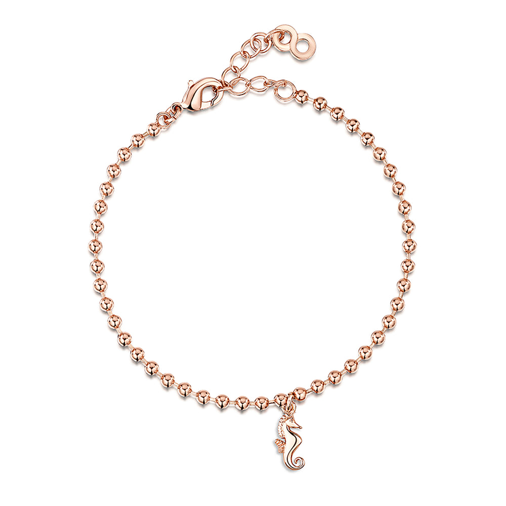 LXI Seahorse Bracelet - Rose Gold