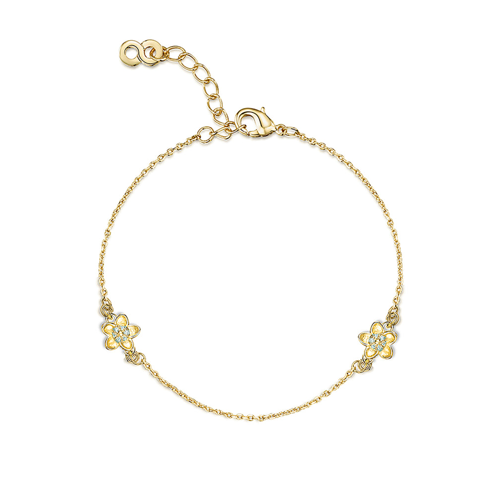 LXI Forget Me Not Bracelet - Gold
