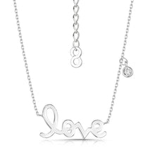 love story polished pendant rhodium
