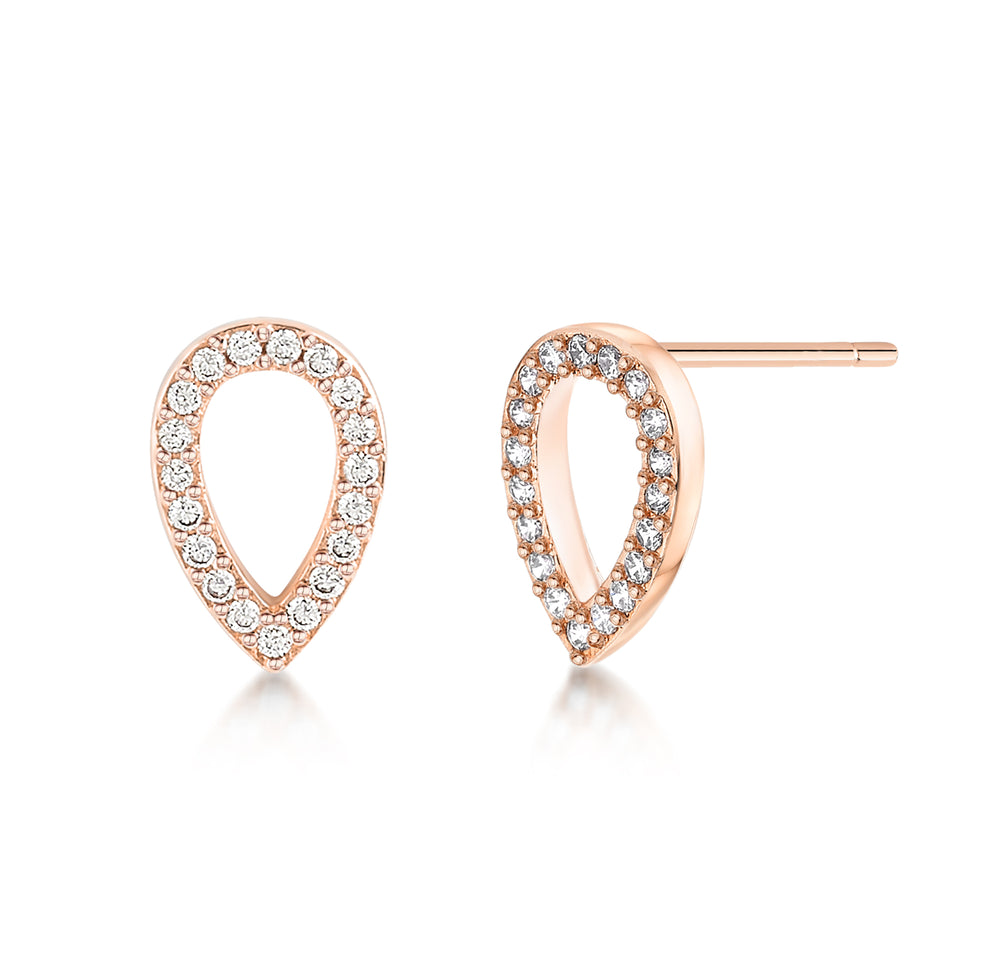 Matilda Earrings- Rose Gold