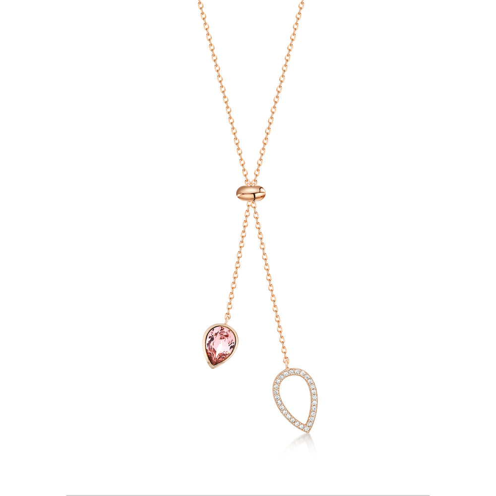 Load image into Gallery viewer, Matilda Necklace- Rose Gold