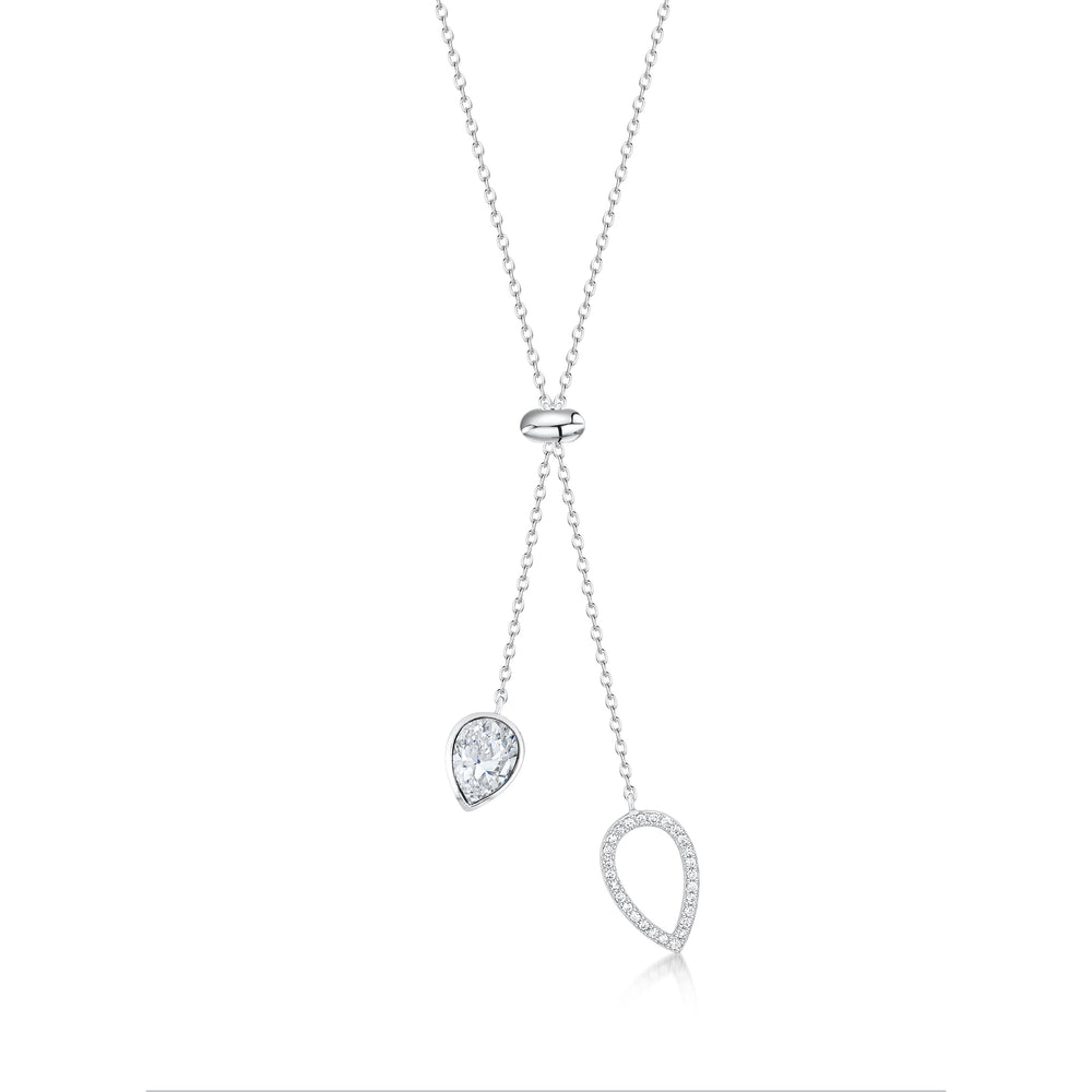 Matilda Necklace- Rhodium