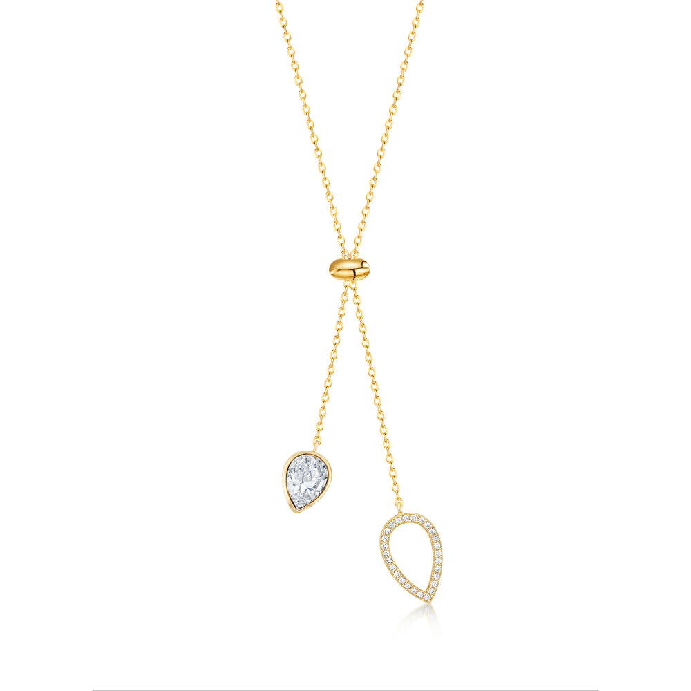Matilda Necklace- Gold