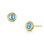 Mia Earring Duo - Yellow Gold