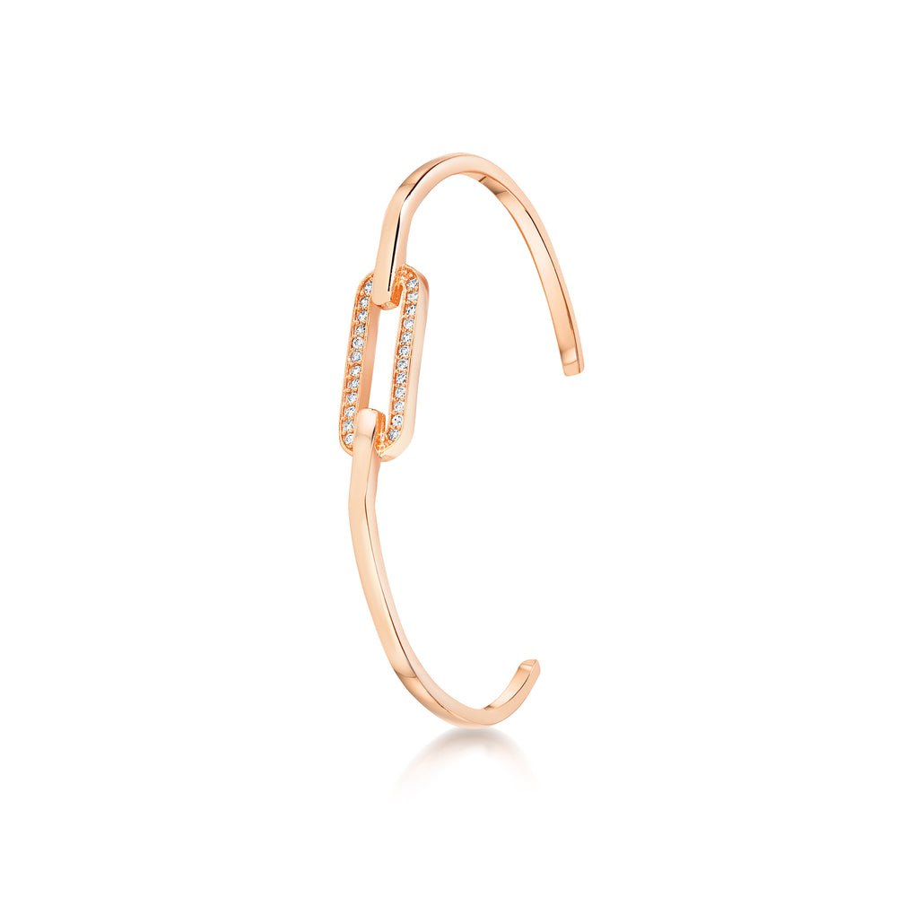 Milly Cuff - Rose Gold