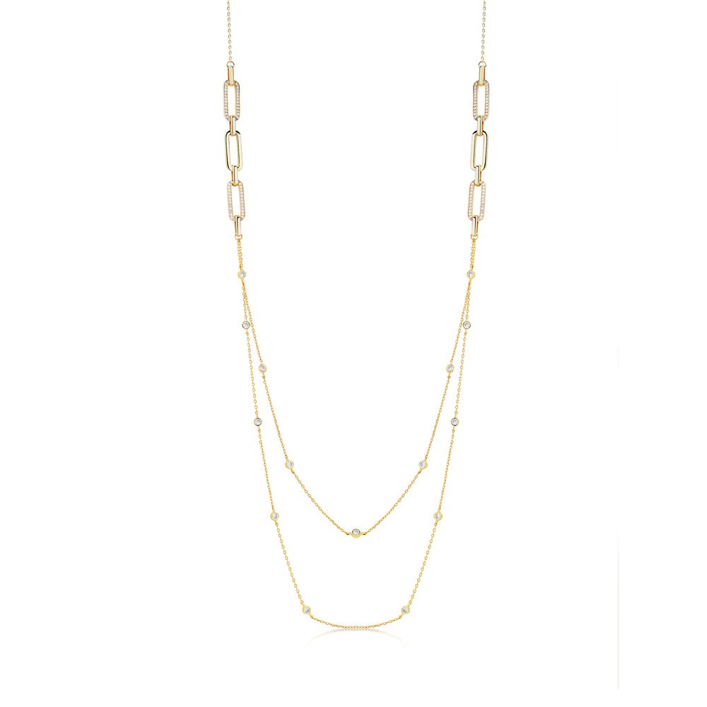 Milly Necklace- Gold