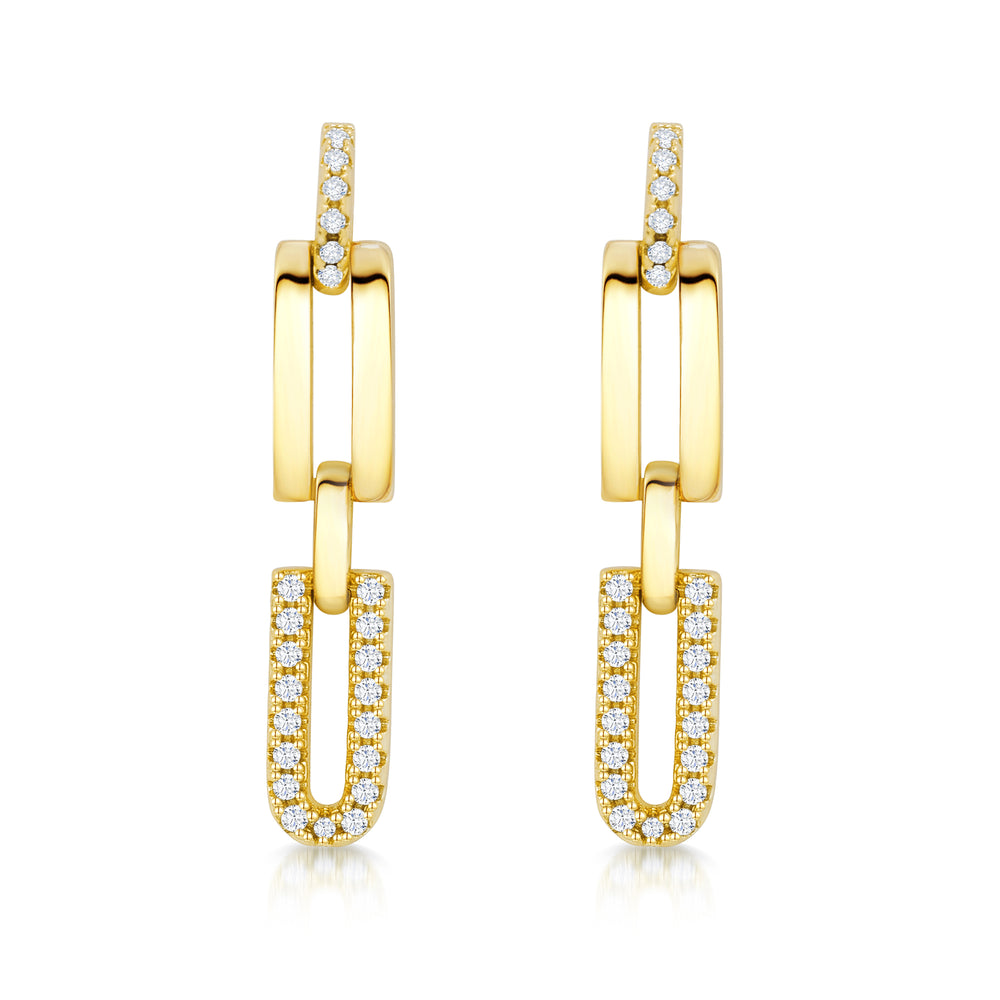 Molly Earrings- Gold