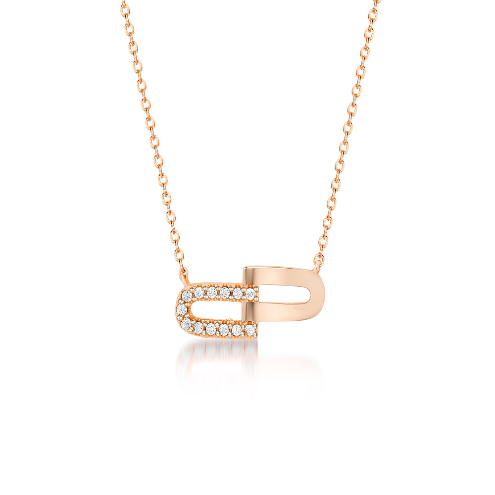 Molly Pendant- Rose Gold