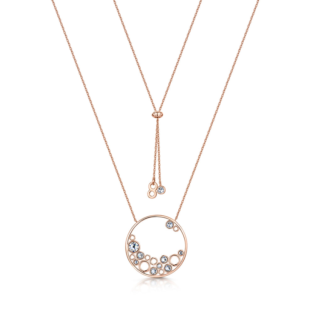 Phoebe Necklace - Rose Gold