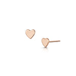 Heart Moon & Stars Earrings - Rose Gold