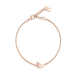 LXI Little Foot Bracelet - Rose Gold