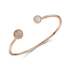 sophia cuff rose gold bangle