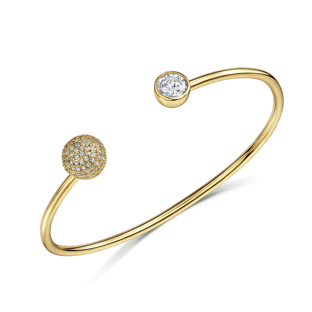 sophia cuff gold bangle