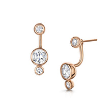 Sophia Earrings - Rose Gold