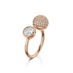 sophia ring rose gold