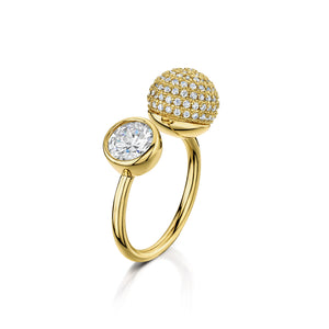 Load image into Gallery viewer, sophia ring gold