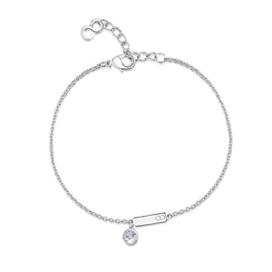 LXI Birthstone Bracelet Diamond/April