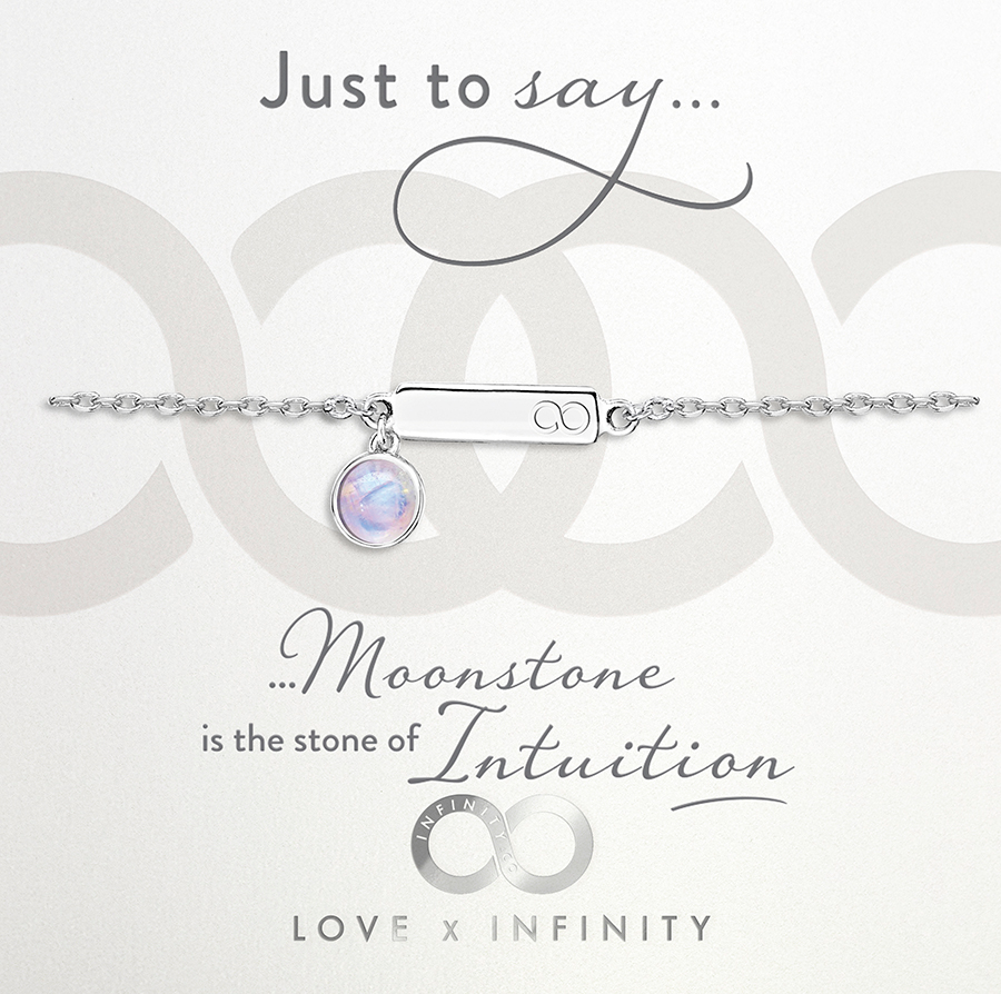 Load image into Gallery viewer, LXI Birthstone Bracelet Moonstone/June