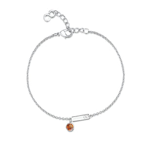 Load image into Gallery viewer, LXI Birthstone Bracelet Topaz/November