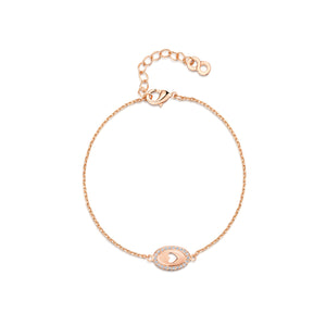 Load image into Gallery viewer, LXI Oval Cut Out Heart Bracelet