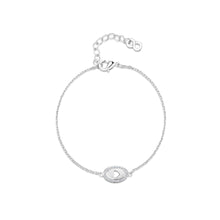 LXI Oval Cut Out Heart Bracelet