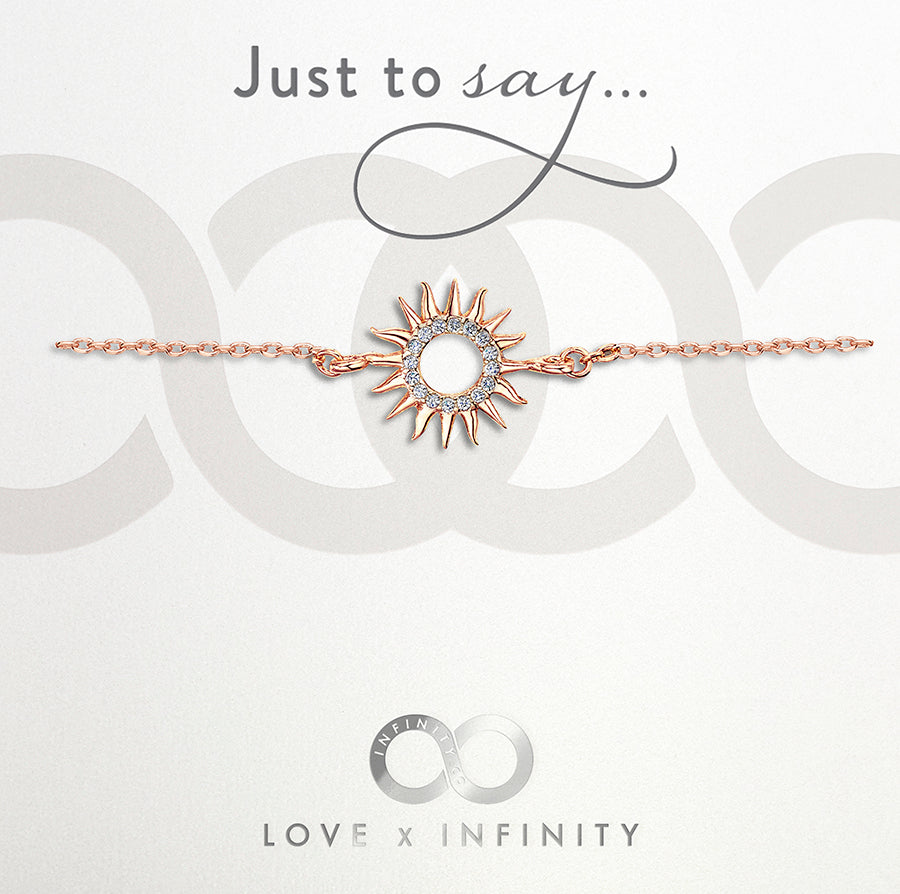 Load image into Gallery viewer, LXI Sun Bracelet Rose Gold