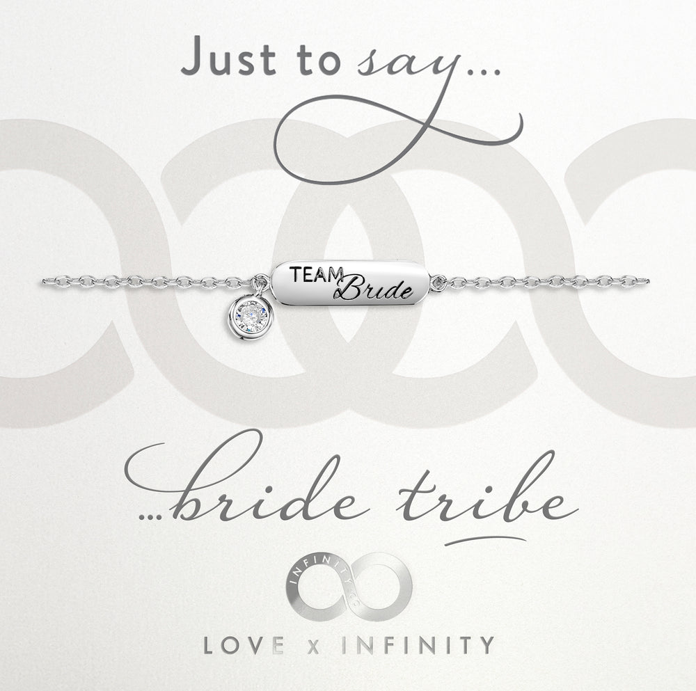 LXI Team Bride Bracelet- Rhodium