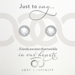 LXI Star Halo Earrings