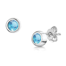 LXI Birthstone Earrings Zircon