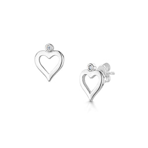 Load image into Gallery viewer, LXI Entwined Hearts Earrings Be Kind