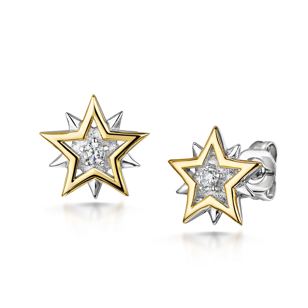 LXI Star Earrings