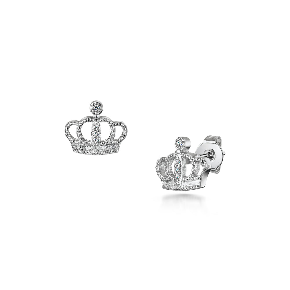 Load image into Gallery viewer, LXI Crown Earrings