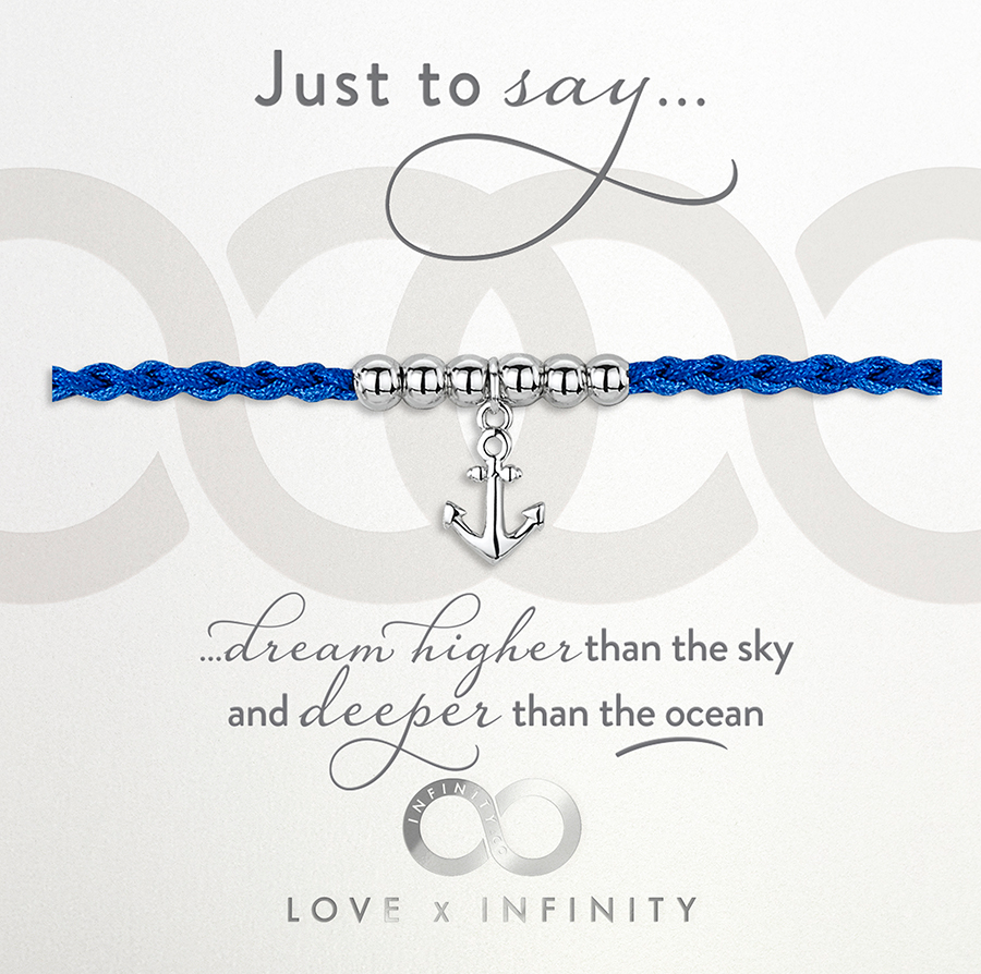 LXI Anchor Friendship Bracelet