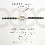 LXI All Seeing Eye Friendship Bracelet