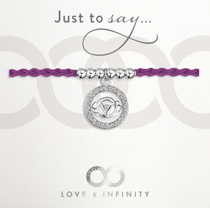 Load image into Gallery viewer, LXI Ajna Third Eye Chakra Friendship Bracelet/Anklet