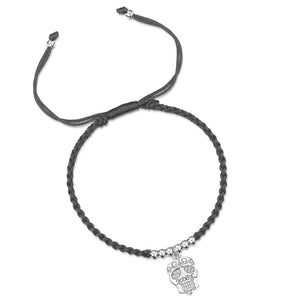 Load image into Gallery viewer, LXI Fiesta Skull Friendship Bracelet