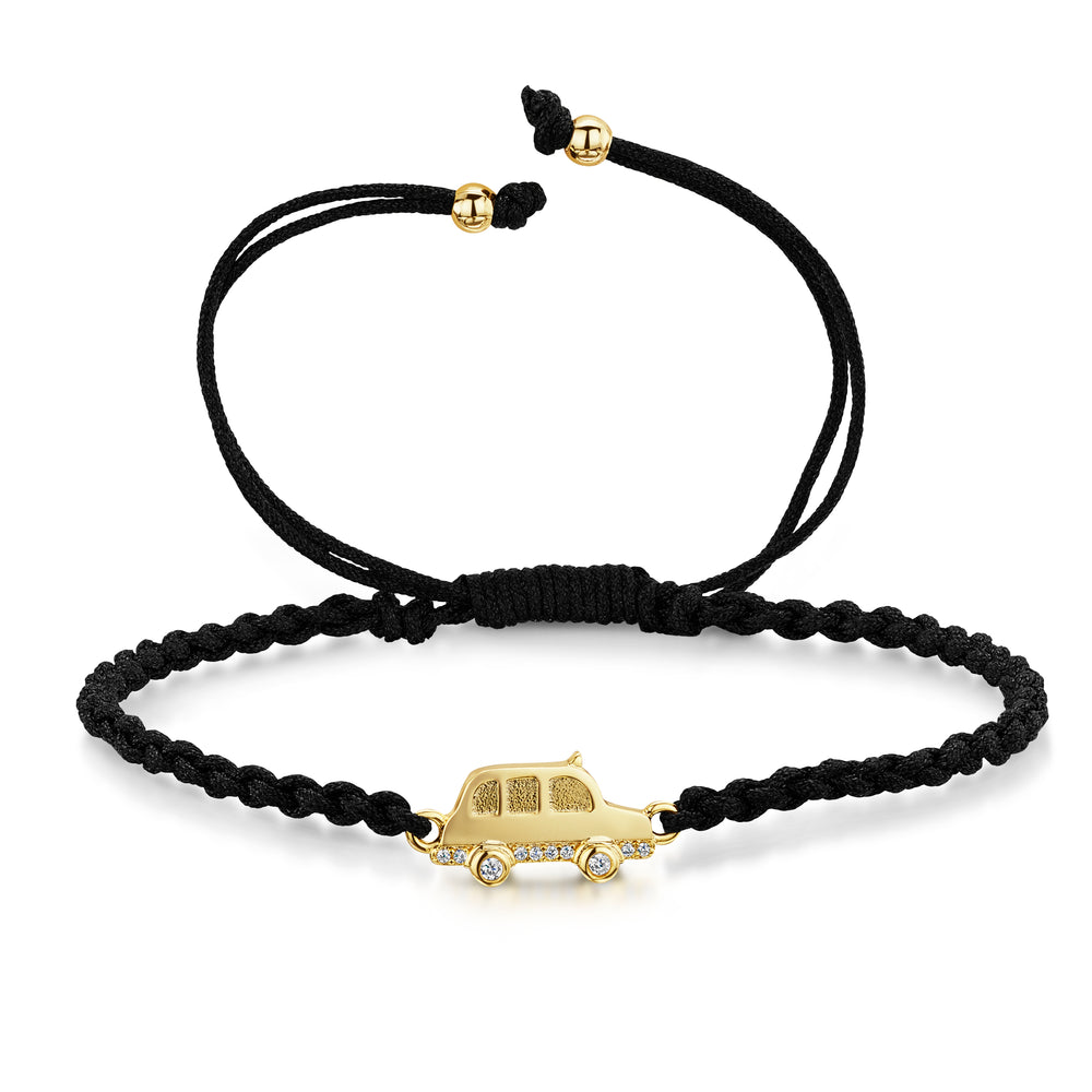 LXI Black Cab Friendship Bracelet
