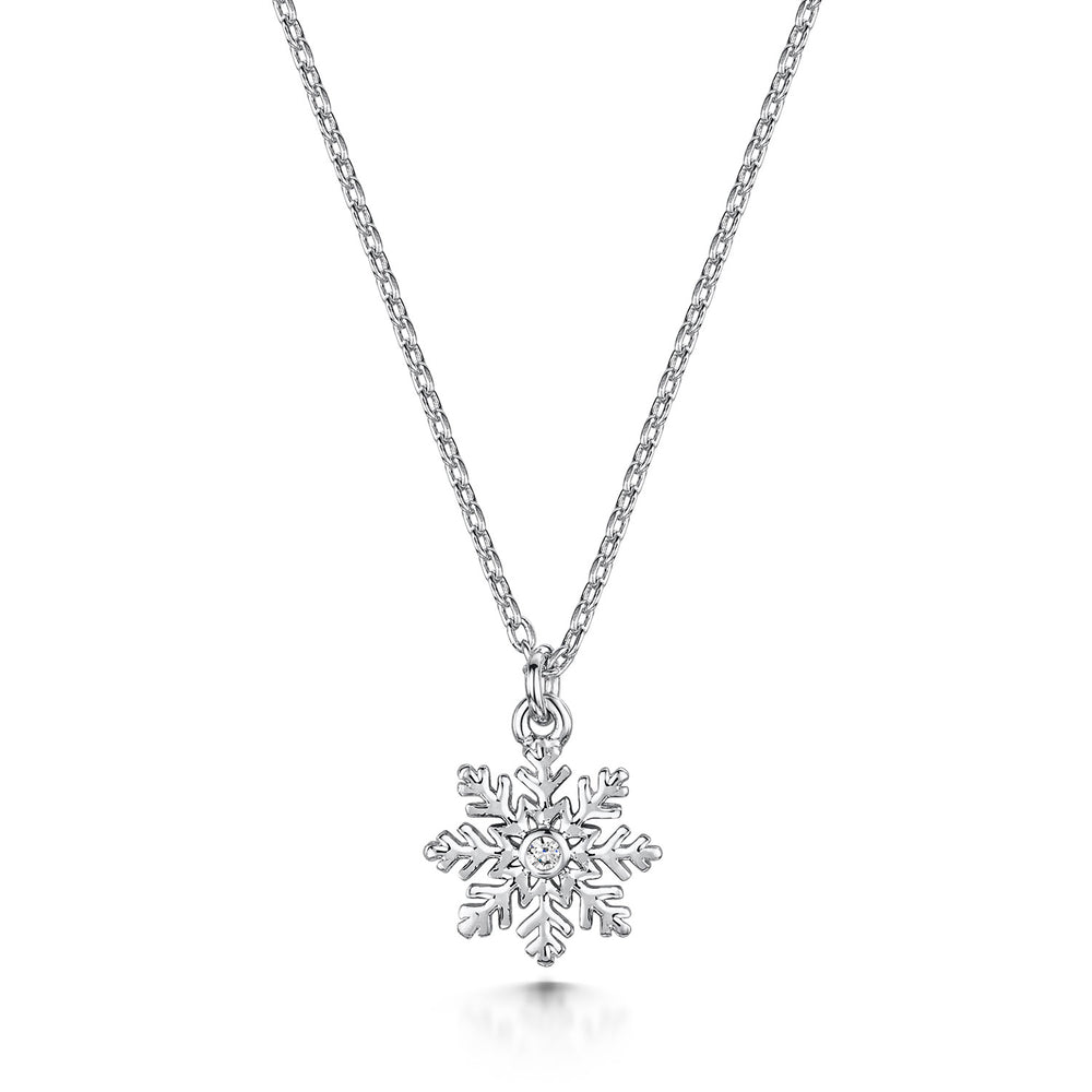 Load image into Gallery viewer, LXI Snowflake Pendant