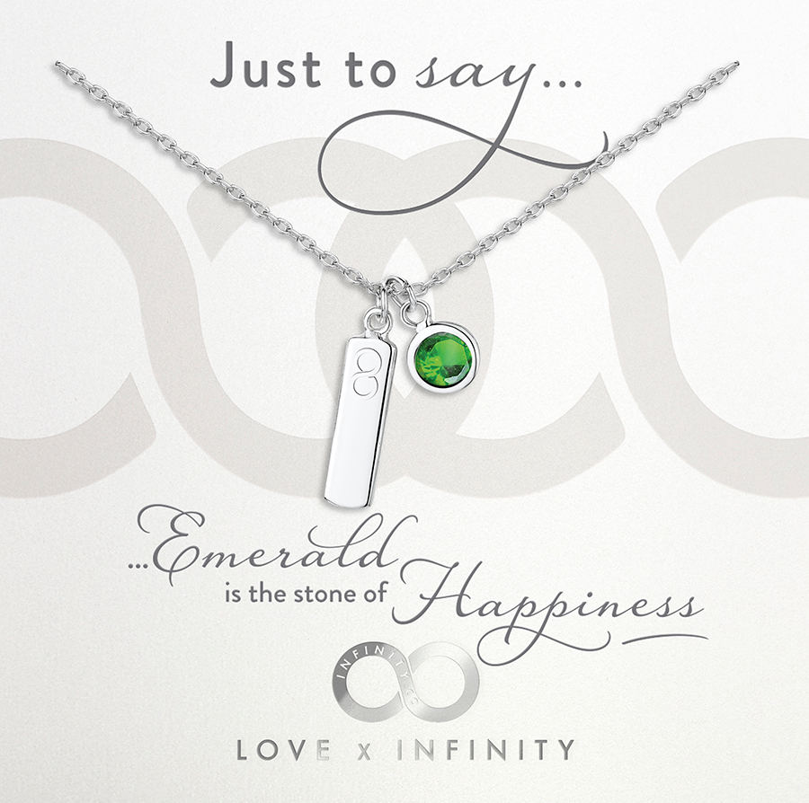 Load image into Gallery viewer, LXI Birthstone Pendant Emerald/May