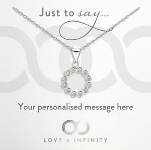 Load image into Gallery viewer, LXI CZ Halo Pendant