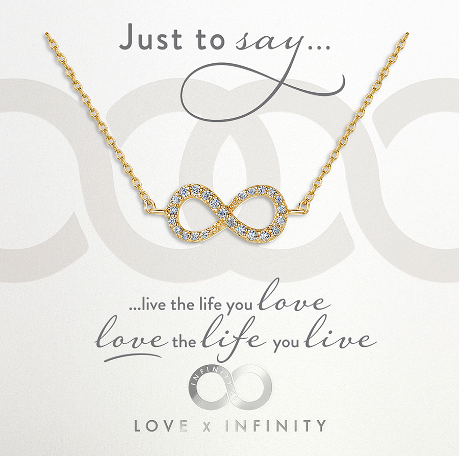 LXI Infinity Pendant Gold