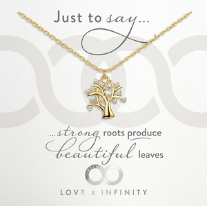 LXI Tree Of Life Pendant- Gold