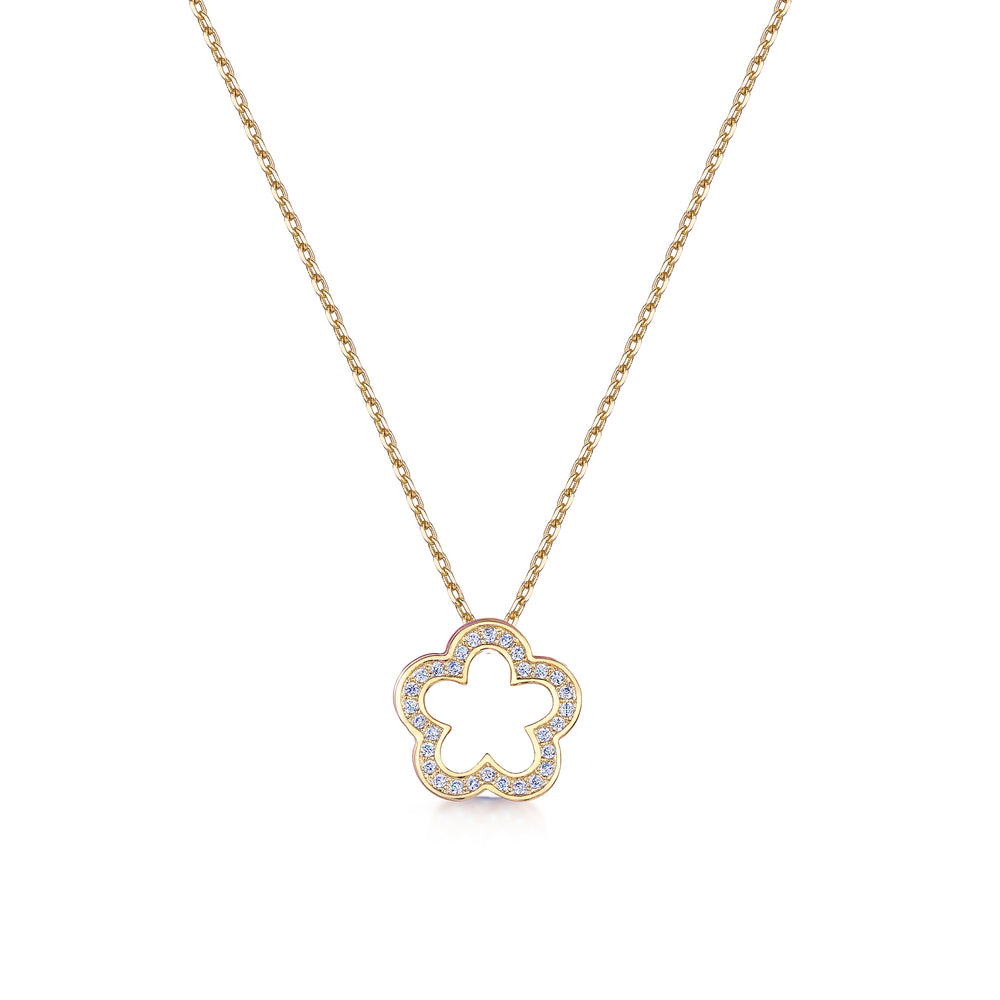 Zara Pendant - Yellow Gold